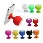 Portable Mini Silicone Sucker Stand Holder Speaker For Phone MP3 New