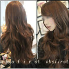 3 Colors Womens Ladies Sexy Long Wavy Curly Hair Wig Fashion Full Human Wigs