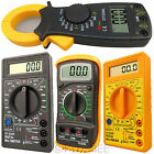 Digital LCD Multimeter Voltmeter Ammeter AC DC OHM Circuit Checker Tester Meter