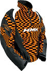 HMK Throttle Pullover Orange/Checker XS-3XL