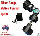 Elbow Range Motion Control Splint arm Brace support sports left right 7005LR J
