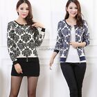 Hot Womens Cardigan Sweater Sweatshirt Jacket Coat Winter Outwear Tops 2 Colors