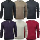 Mens Jumper Fashion Kensington Dockside 'Hubert' V Neck Cashmillon Sweater