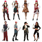 Halloween Adult Costume Cosplay Clothes Pirates of the Caribbean Set Pirate Suit