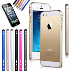 Luxury Ultra Thin Metal aluminum Alloy Bumper Frame Case Cover for iPhone 5 5S