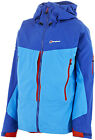BERGHAUS MENS KANGCHENJUNGA GORE-TEX ZIP NECK JACKET – BLUE (040893)