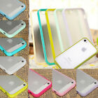 For iPhone 4/4S 5/5S 5G Case Cover Silicone Rubber Protective Back Skin Soft