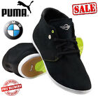 NEW Official Puma BMW MINI  Alwyn Mid Mens Casual Black Shoes Boots RRP £109