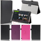 For NVIDIA Shield 2 8-Inch 2014 Tablet Leather Wake Smart Case Cover w/Protector