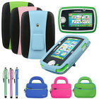 Leather Pouch Cover Kick-Stand Case Accessory For LeapFrog LeapPad3 Kids Tablet