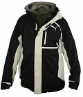 Puma Mens Outdoor 3 in 1 Zip Hooded Black Jacket 561934 01 DR68