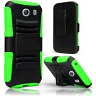For Samsung Galaxy Ace STYLE S765C Cell Phone Case Hybrid Hard Cover + Holster on Rummage