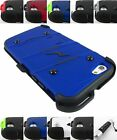 FOR APPLE IPHONE 6 ZIZO BOLT TRIPLE LAYER ARMOR HOLSTER CASE COVER+STYLUS/PEN