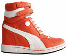 Puma MY 66 Womens Girls Lace Up Hi Tops Strap Wedge Trainers (354689 04 U25)