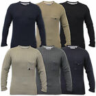 Mens Jumper Soul Star Knitted Jacquard Sweater Pullover Crew Neck Casual Winter