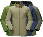 NEW Men Warm Waterproof Breathable Good Soft Shell Hiking Outdoor Jacket