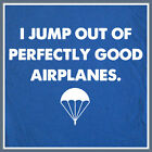 Skydiving Parachute T SHIRT Airborne Paratrooper Special Forces Army Ranger Tee