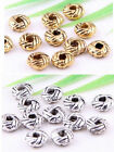 wholesale 100/350Pcs  Silver、 Gold Plated  Spacer Beads 6x3mm (Lead-Free)
