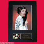 CARRIE FISHER Princess Leia Star Wars Signed Autograph Mounted PRINT A4 540 £5.99 GBP on eBay