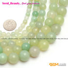 Natural Round Grape Agate Gemstone Jewelry Making Loose Beads Strand15'Size Pick
