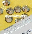 GENUINE Swarovski Silver Shade (SSHA) Crystal ( Hotfix ) Iron on Rhinestones Gem