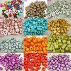 Acrylic 3D Illusion Miracle Beads Cylinder Charms Spacer Beads Jewelry Making