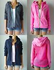 NWT Gilly Hicks by Abercrombie Open-stitch Back Sweatshirt Hoodie $49.50 S, M, L