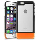 INSTEN TriTone Clear Rubber Shockproof Armor Hard Case Cover For iPhone 6 6S 4.7