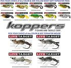Koppers Live Target Frog / Mouse Weedless Topwater - Any Soft Hollow Body Lure
