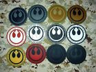 STAR WARS New Jedi Knight Republic Logo Military Morale 3D PVC Patch 8cm $6.49 CAD