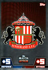 Match Attax 14/15 Sunderland Swansea & Tottenham Cards Pick From List