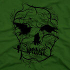 Graphic Art SKULL tree crow bird Mens T-SHIRT novelty gothic bansky fun tee S-XL