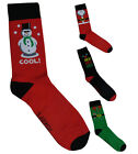 NEW WOMENS MENS UNISEX NOVELTY FESTIVE FEET CHRISTMAS XMAS SOCKS UK 6 - 11