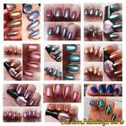 Make Chameleon Nail Polish x10 Multi Ultra Fast Color Changing Pearl Pigment Kit
