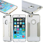 "In-style Hard Back Brushed Metal Case Cover Protector FOR iphone 6(4.7"")/6 Plus"