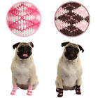 ANY SIZE & COLOR - PUPPIA - ARGYLE - DOG SOCKS - PINK or BROWN