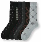 6 12 Pairs Mens #1Focus1 Argyle Dress Socks Designer Fashion Lot Size 9-11