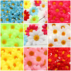 50/100/200X Gerbera Daisy Head Artificial Silk Flower Wedding Craft Home Decor