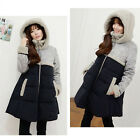 New Women's Long Winter Parka A line Down Jacket thicken Hooded Thick Warm Coat