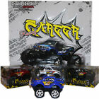 Toy Monster Truck Car with Oversized Wheels Gift Box Red, Silver, Black or Blue