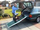 6ft Fibreglass Length Fold Wheelchair Ramp, Vehicle Access Ramp