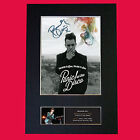 BRENDON URIE Panic At The Disco Signed Autograph Mounted Photo Repro A4 445