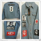 G-Dragon Shirt Bigbang GD Textile Jeans Denim Shirts One of a kind Coup D'etat