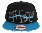 Yums New Era 9FIFTY Mens Snapback Black Blue Polyester (L)
