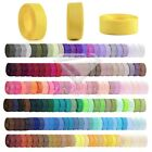 10m Polyester Ribbon Roll Grosgrain Crafting Sewing Wedding Party Decorating New