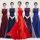 Ever Pretty New Long Red Lace Evening Dress Prom Party Gown 08352 UK Sz 6-18