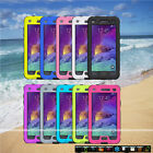 New Shockproof Waterproof  Dirt Life Proof  Case Cover for Samsung Galaxy Note 4
