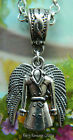 SUPERNATURAL PENDANT NECKLACE CASTIEL MISHA ANGEL WINGS TRENCHCOAT