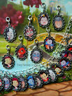 DISNEY CUTE VILLAINS CLIP ON CHARM OR BRACELET CRUELLA MALEFICENT WICKED QUEEN