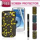 Sprinkle Hard Back Case Cover For Samsung Galaxy S3 I9300 Free Screen Protector
